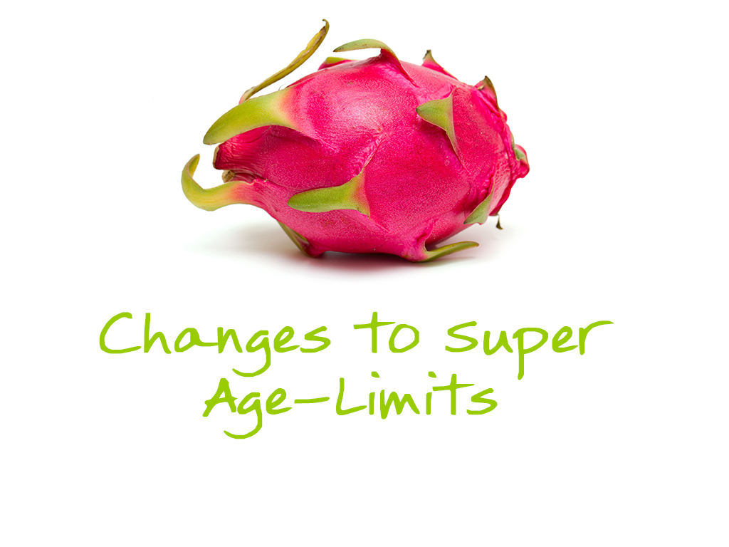 Changes to Age-Related Limitations