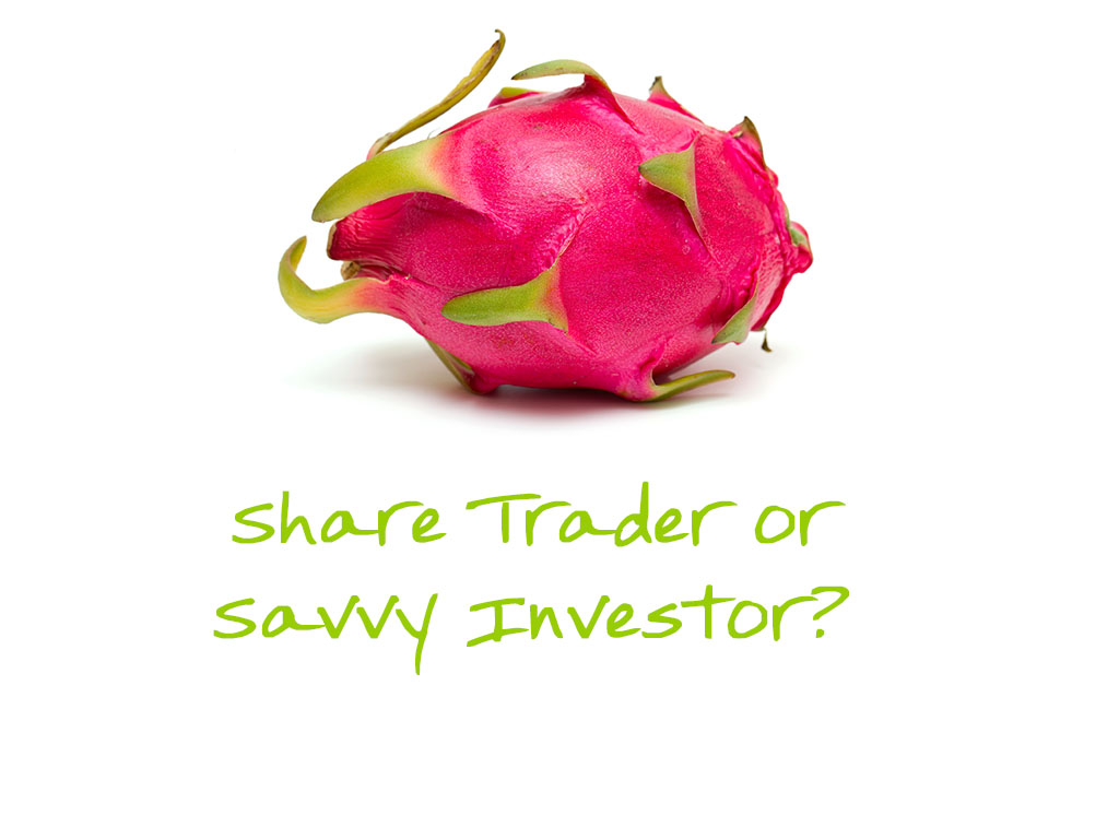Share Trader or Savvy Investor TITLE